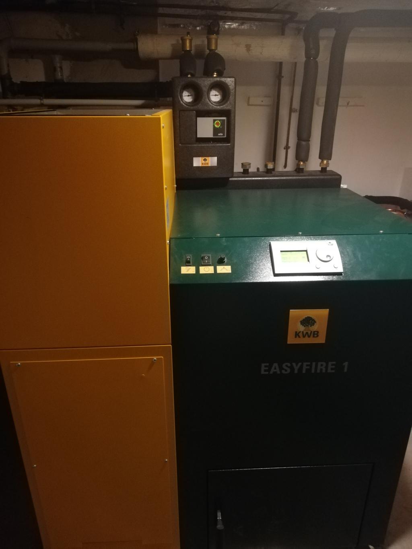 Chaudière granulés KWB EASYFIRE 1 USP V15