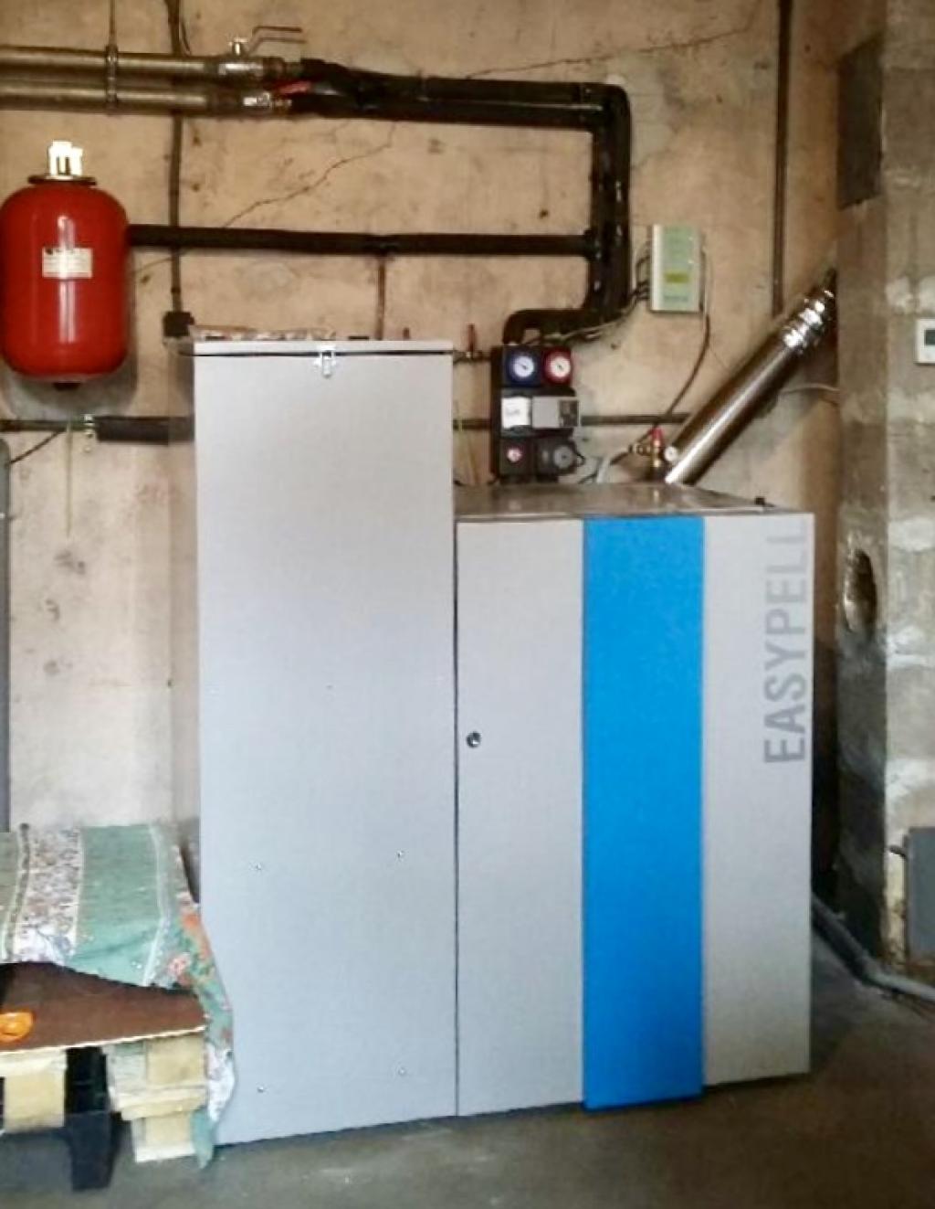 Installateur chaudière granulés de bois easypell - remplacement chaudière bois/Pellets