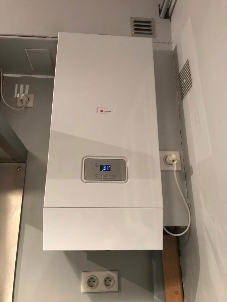 plombier-chauffagiste - installation chaudiere GAZ