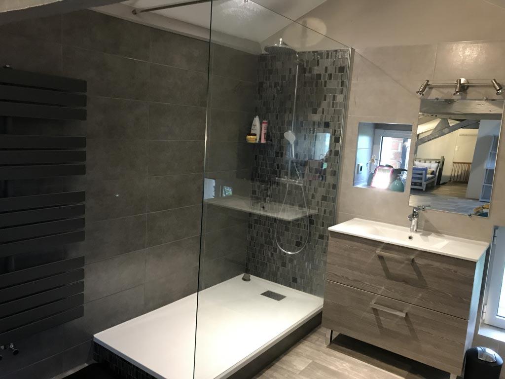 Plombier-Rénovation-réfection salle de bain 65800 Aureilhan