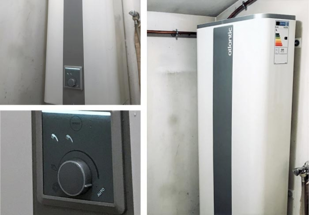 Installation-remplacement chauffe-eau