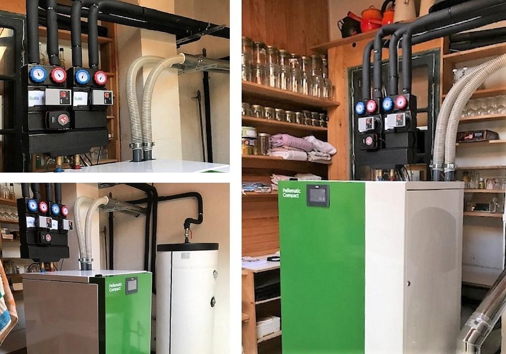 installation chaudière granulés de bois - installateur RGE Qualibois-Hautes Pyrénées (65)