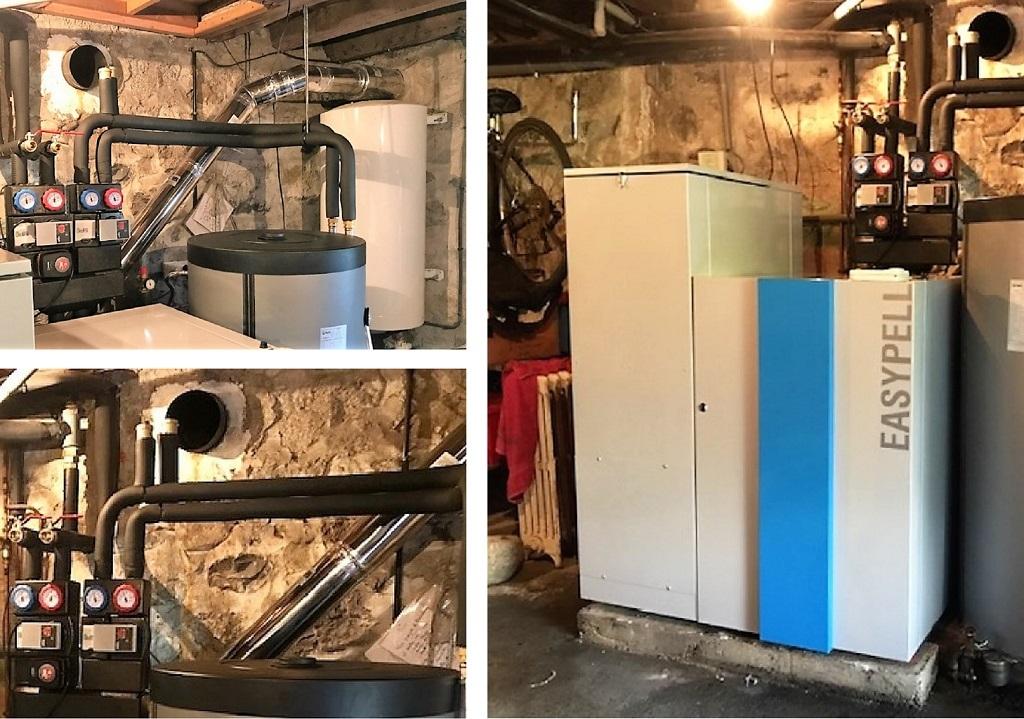 installation chaudière granulés de bois -Hautes Pyrénées (65)
