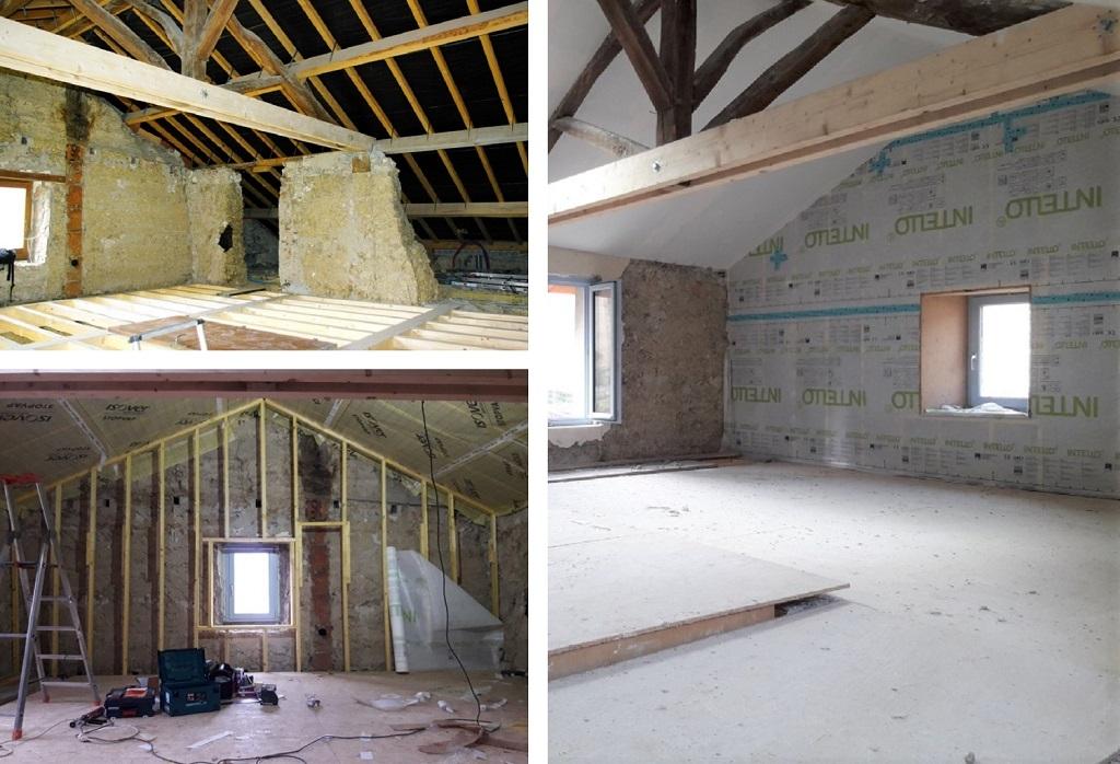 Rénovation thermique d'une maison en pisé