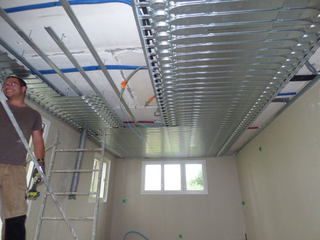 Plafond Chauffant rafraîchissant