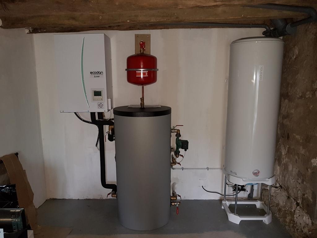 Pompe à chaleur, sur radiateur basse température