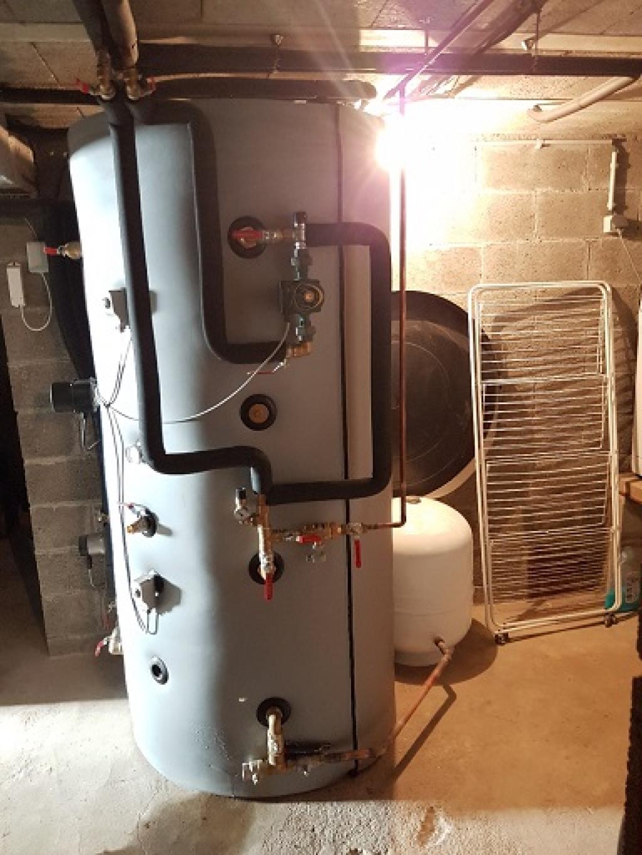 Poêle à Bûches Hydraulique - 9 radiateurs et toujours pas d'appoint ! CNC Energie dans l'Indre 36