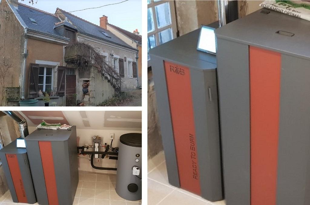 Chaudière Granulés RTB Chauffage et Eau Chaude, CNC Energie dans le 37-Indre et Loire (37)