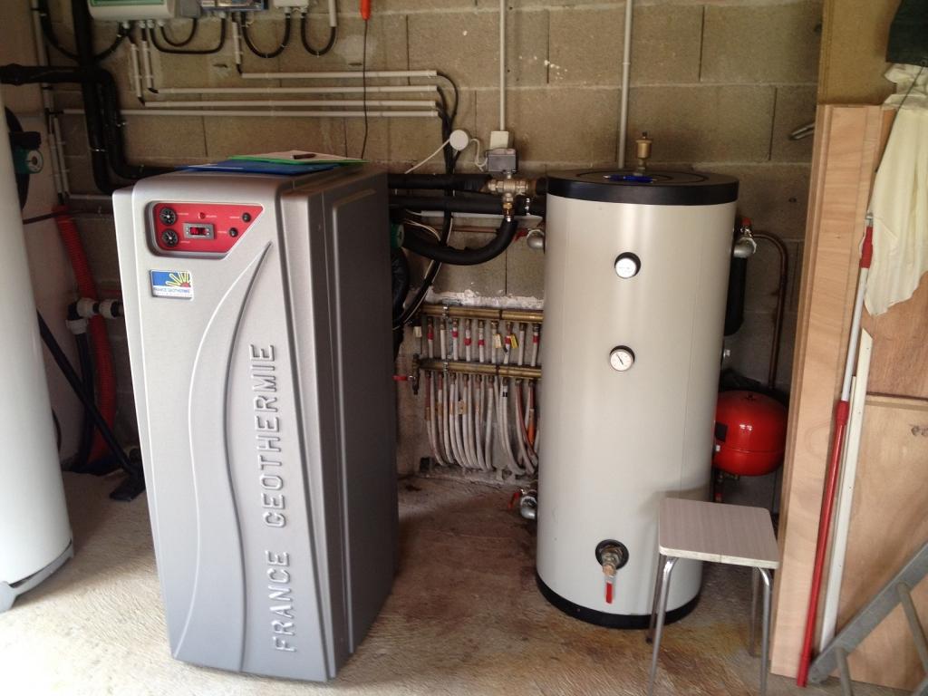 Géothermie Surfacique sur radiateurs