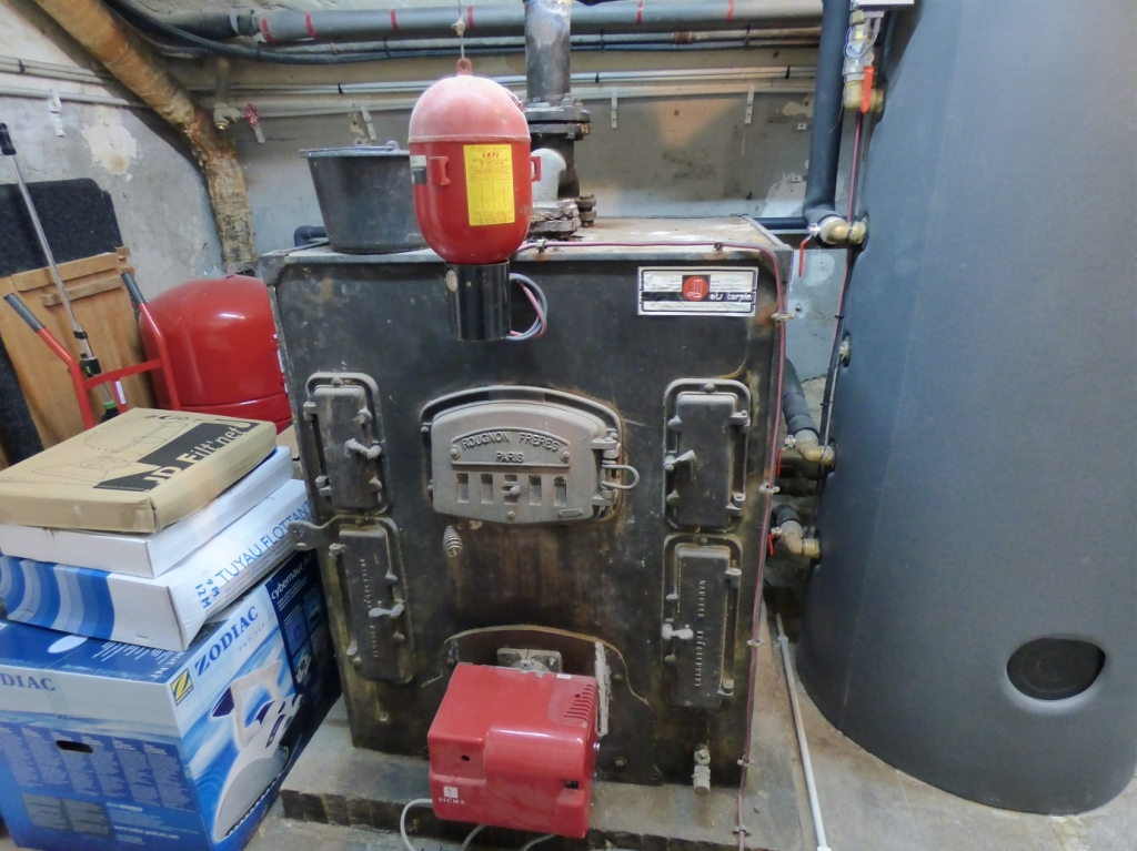 Géothermie sur radiateurs fonte, par CNC Energie