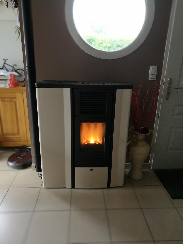 Installation d'un poêle à granulé superior lia extra plat-Morbihan (56)