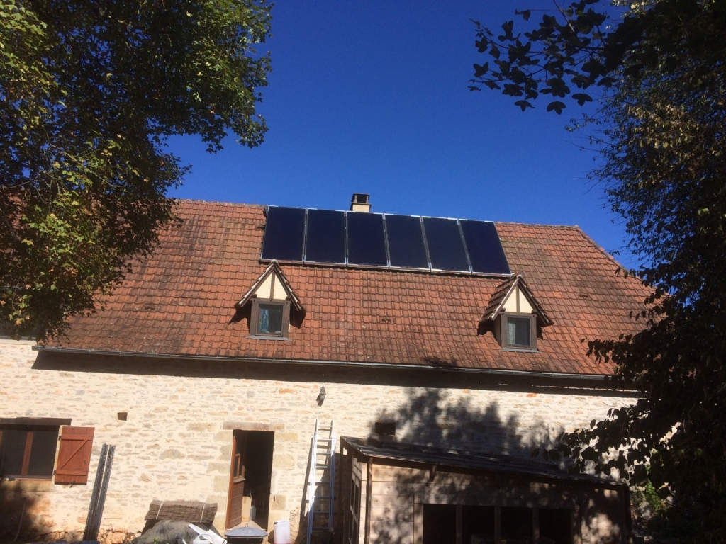 Chauffage solaire thermique