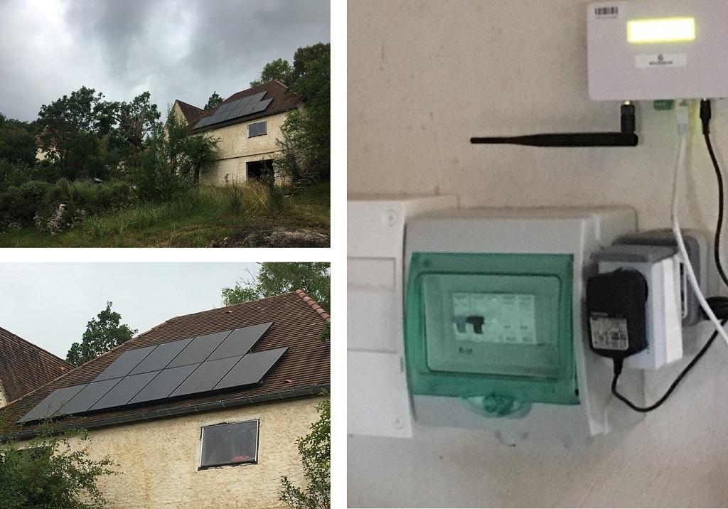 Installation de capteurs photovoltaïques en autoconsommation 3 kw