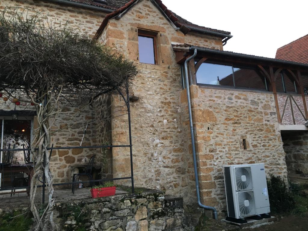 Remplacement d'un pompe à chaleur monobloc à Faycelles - Lot -46
