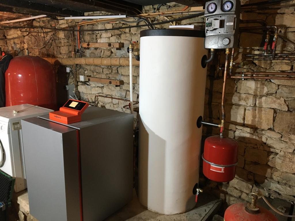 Installation d'une géothermie VIESSMANN VITOCAL 200 G à Lissac et Mouret - Lot - 46