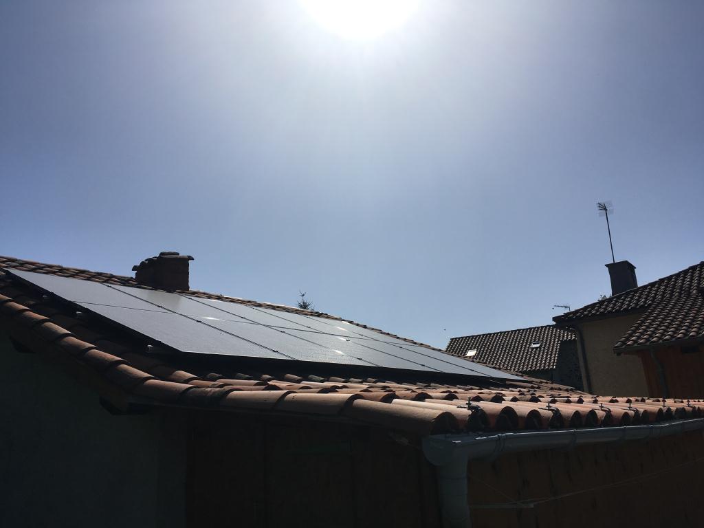 Installation photovoltaïque 3 kwc en autoconsommation et renvente du surplus à QUEZAC - Cantal - 15