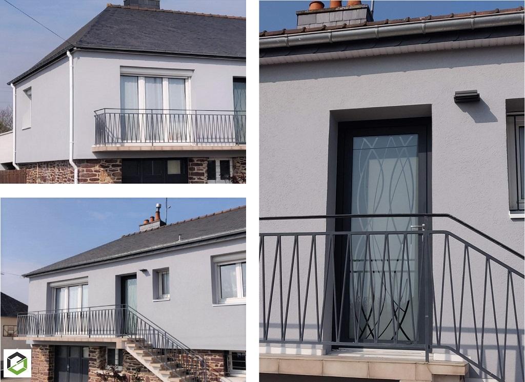 Rénovation énergétique : isolation des combles, Isolation par l'extérieur, remplacement des menuiseries