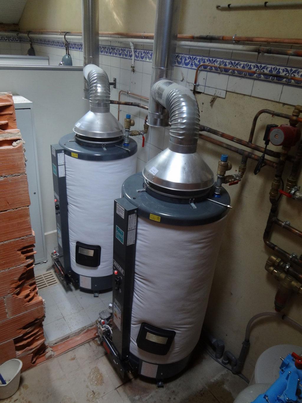 Production d'eau chaude sanitaire dans un camping-Dordogne (24)