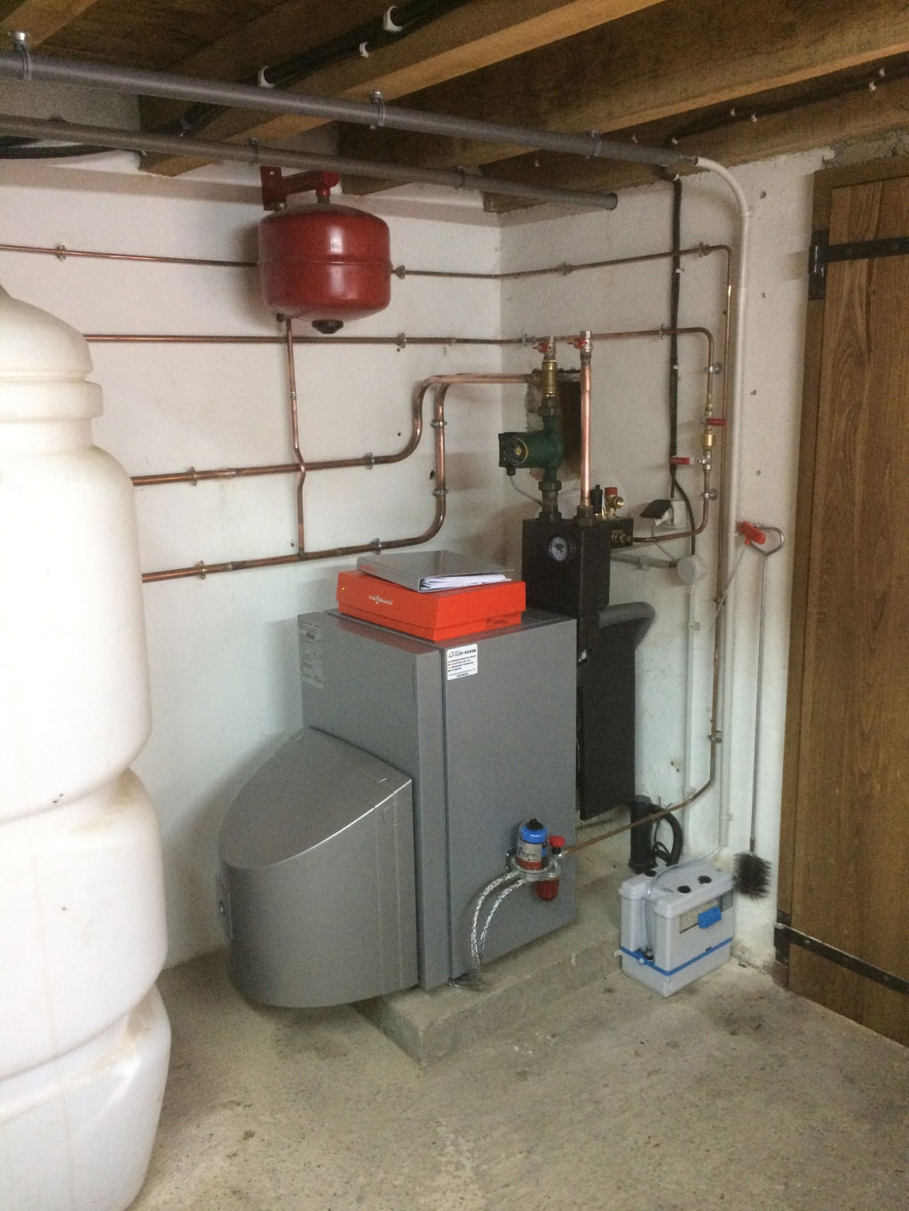 Installation Chaudiere Fioul Condensation Viessmann Sarlat