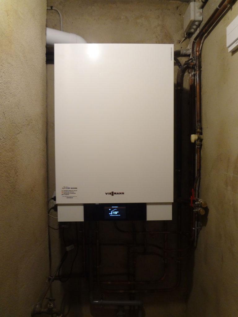 Chaudière gaz condensation Viessmann Vitodens 200-W - Sarlat la Canéda - Dordogne - 24-Dordogne (24)