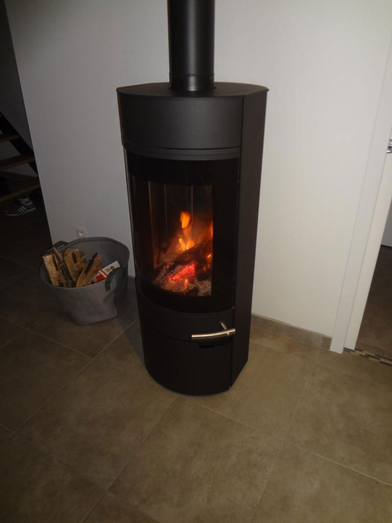 Poêle bois bûche DROOFF-Dordogne (24)