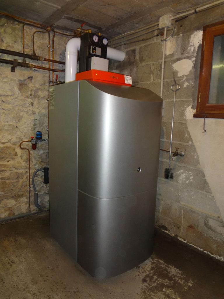 Chaudière fioul condensation Viessmann - Gourdon - Lot - 46 -Lot (46)