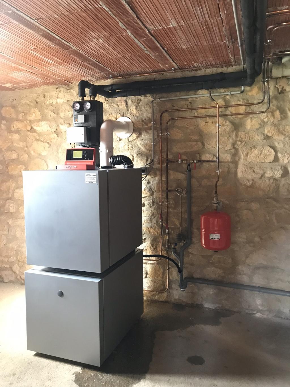 Chaudière condensation fioul Viessmann - Gourdon - Lot - 46