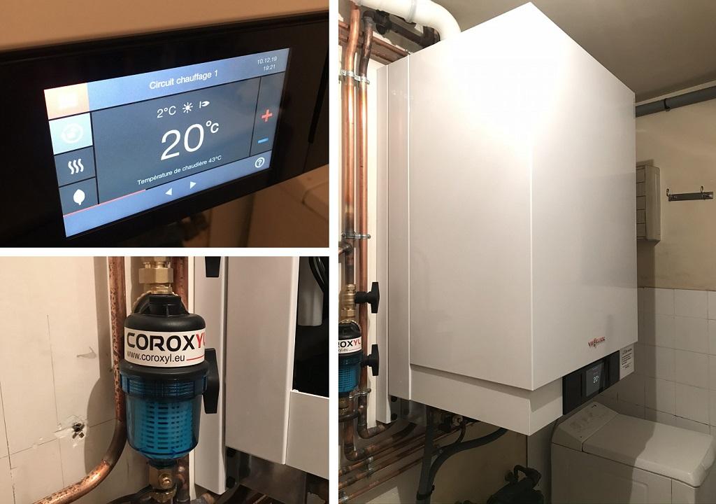 Chaudière gaz condensation - VIESSMANN Vitodens 222-W - Carlux - Dordogne - 24