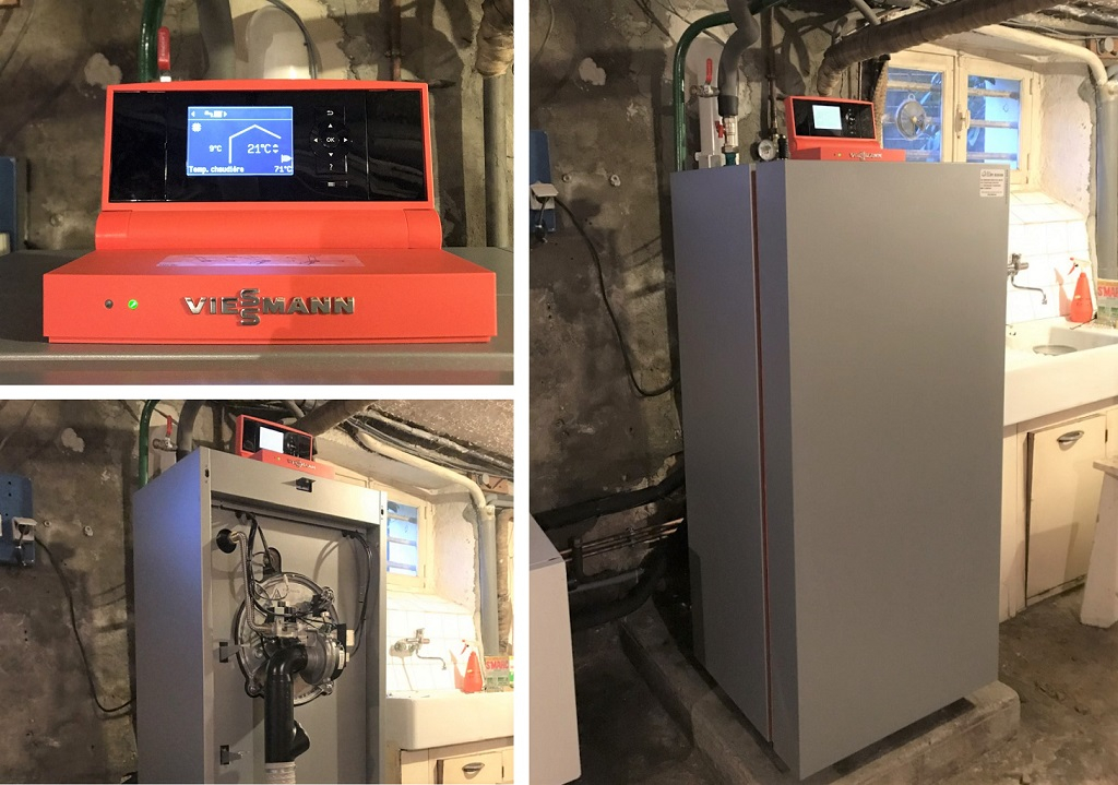 Chaudière gaz condensation - VIESSMANN Vitocrossal 300 - Sarlat la Canéda - Dordogne - 24