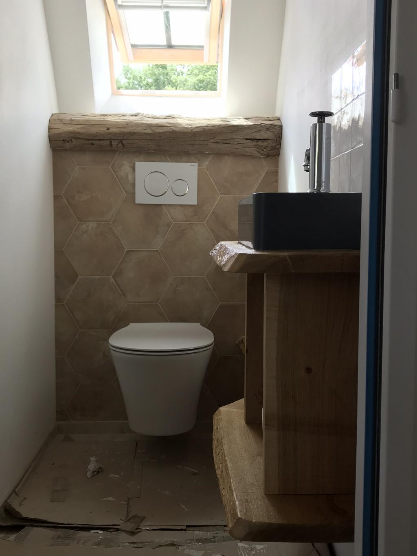 Espace toilette bâti-support Geberit - Sarlat la Canéda - Dordogne - 24