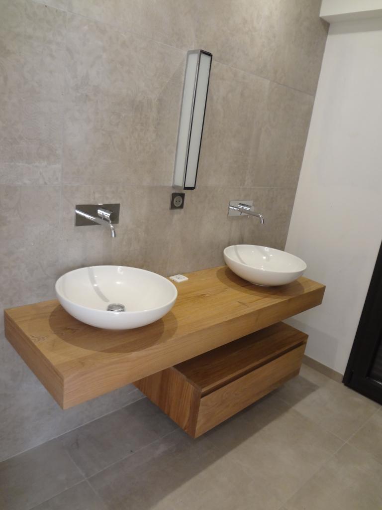 Meuble de salle de bain suspendu Line Art - Cénac et Saint Julien - Dordogne - 24