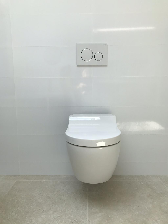 Wc suspendu avec abattant lavant Geberit - Sarlat la Caneda - Dordogne