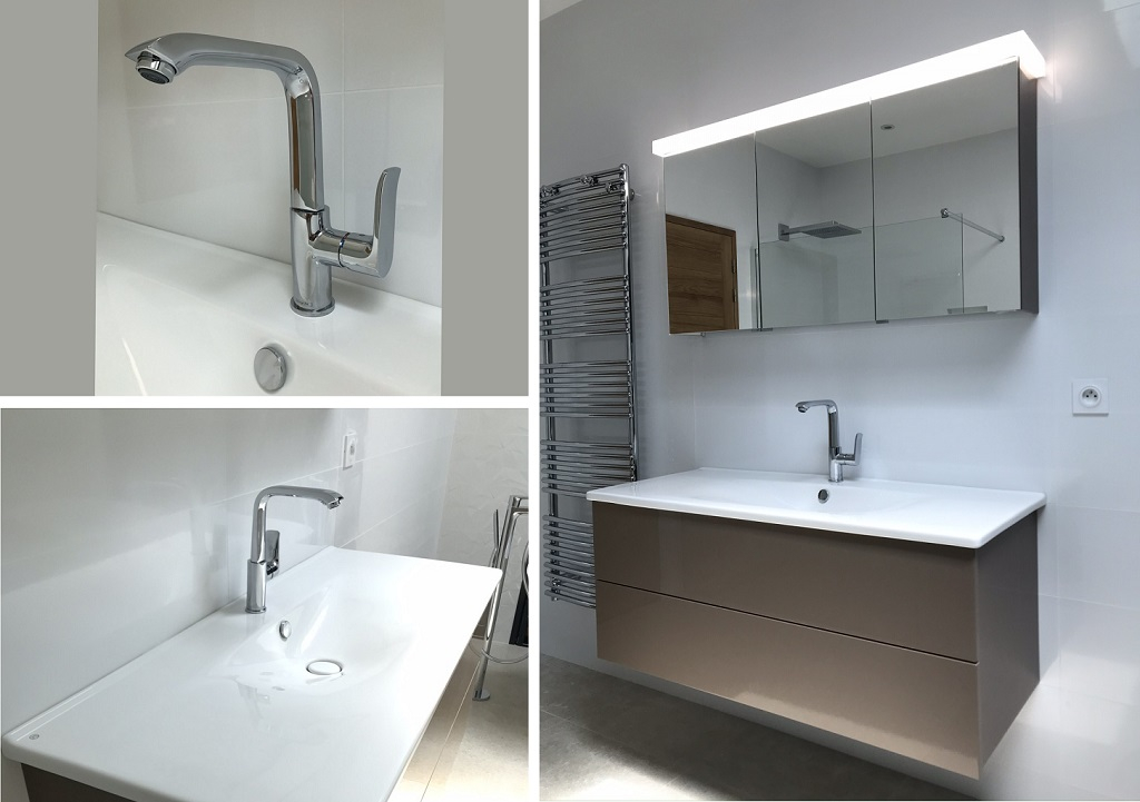 Meuble de salle de bain Burgbad - Sarlat la caneda - 24