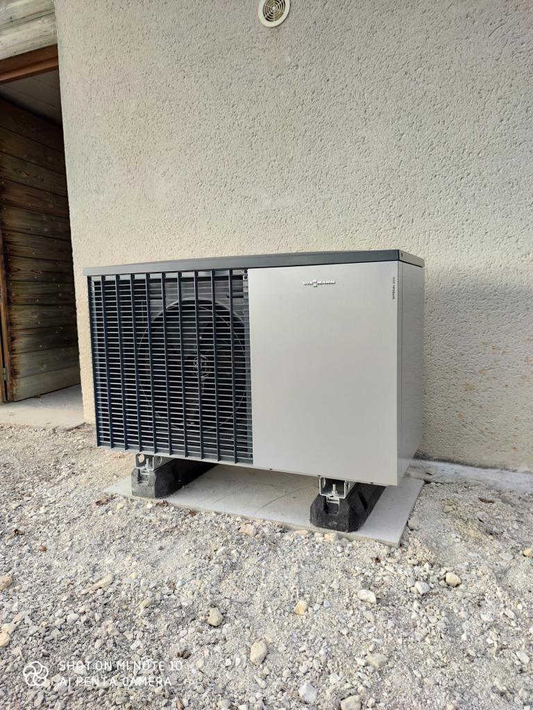 Pompe à chaleur air/eau - Viessmann Vitocal 200-S - Daglan - Dordogne - 24