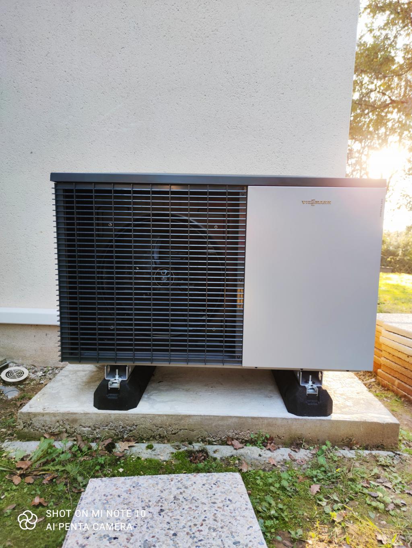 Pompe à chaleur air/eau - Viessmann Vitocal 222-S - Calviac en Périgord