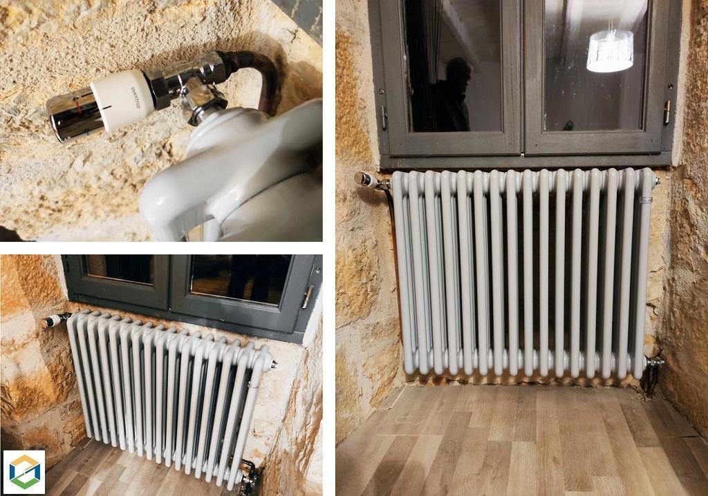 Pose de radiateurs design et décoratif IRSAP-Lot (46)