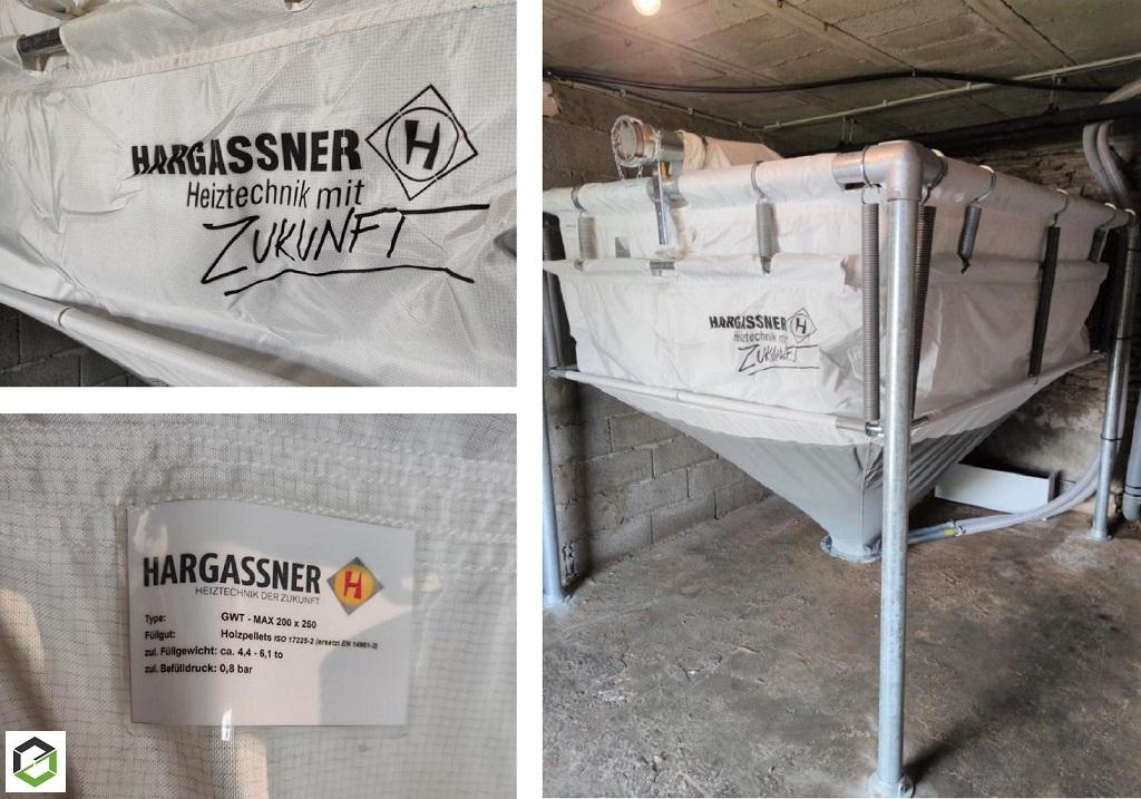 Installation Silo à granulé de bois pour chaudière à granulés automatique-Dordogne (24)