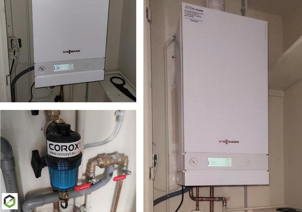 Installation chaudière gaz condensation Viessmann-Dordogne (24)