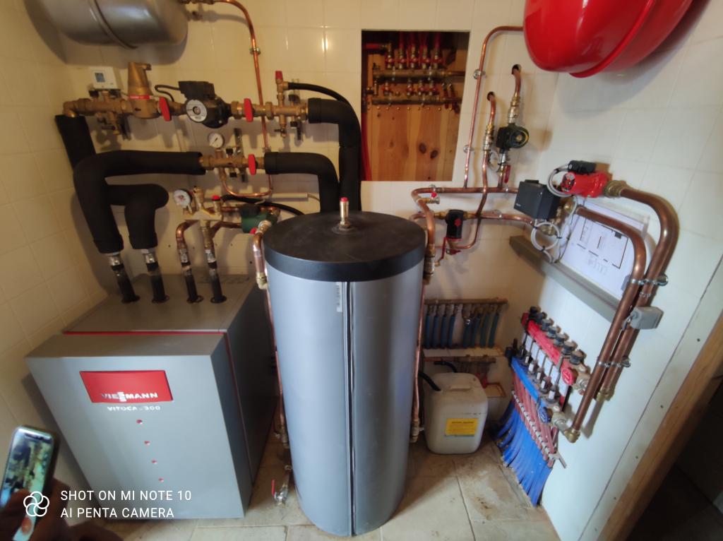 Pompe à chaleur géothermique Viessmann