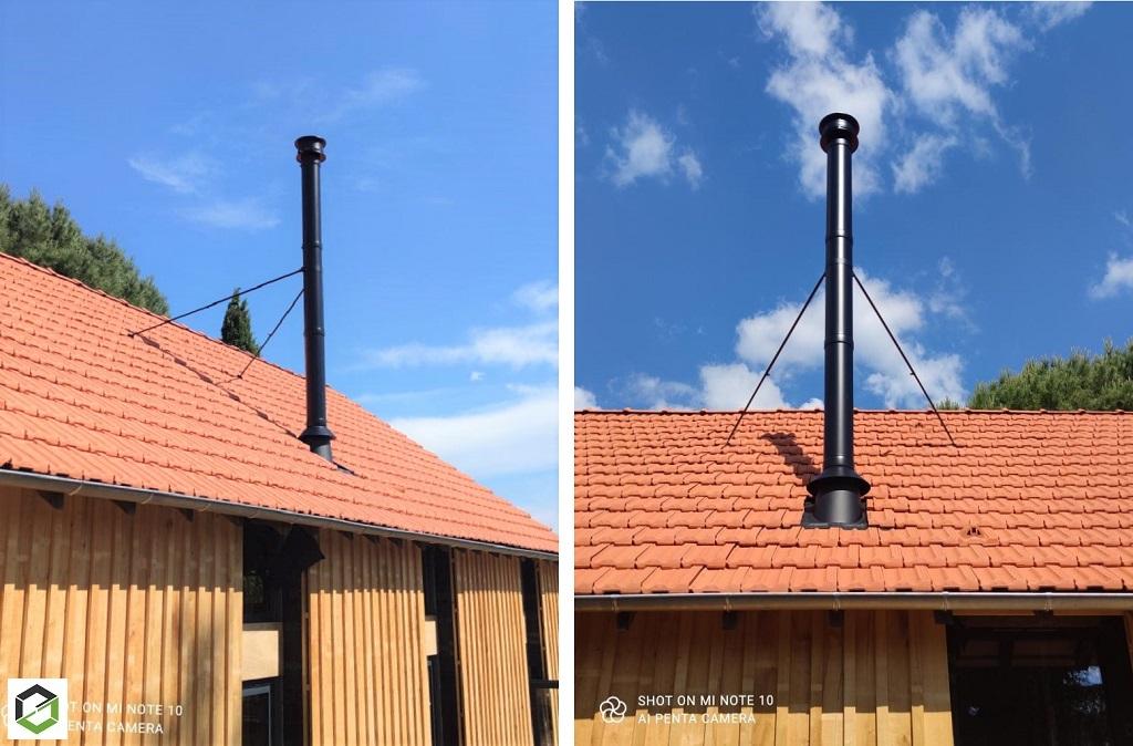 Installateur Conduit de fumée double paroi -Dordogne (24)