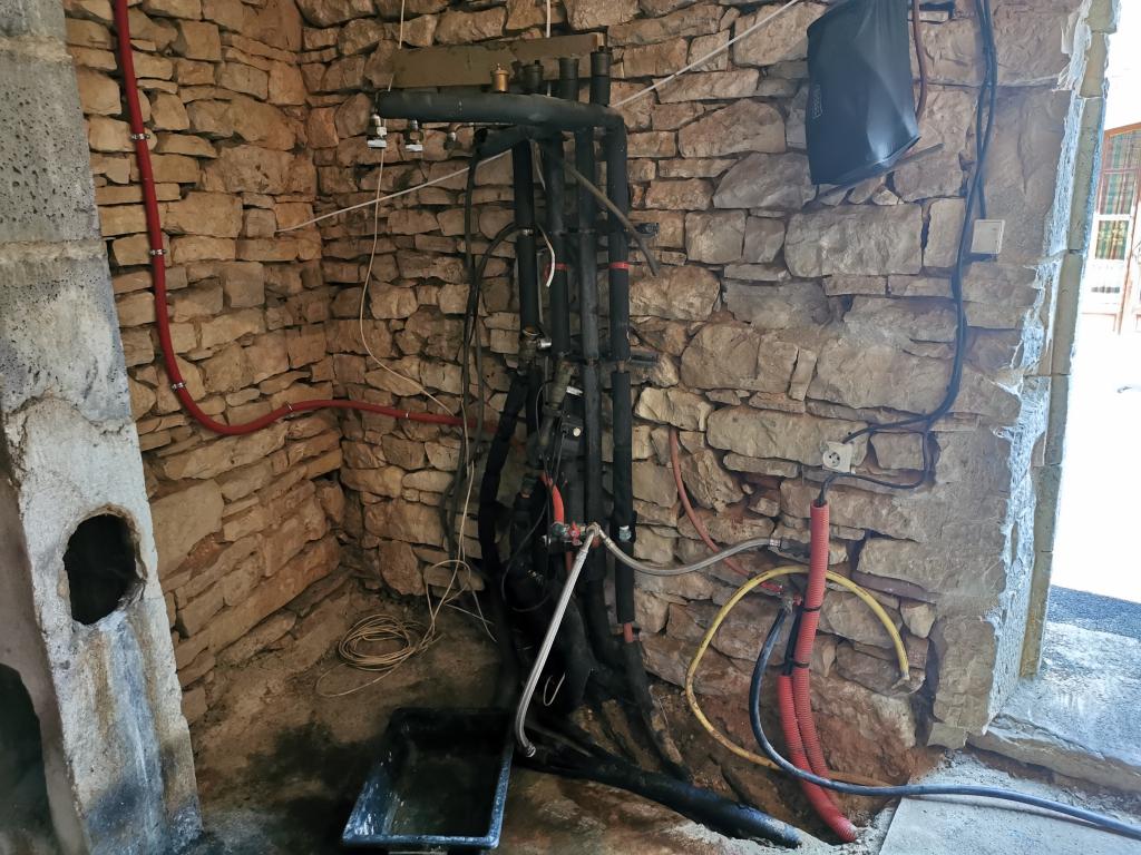 Chaudière à granulés de bois OKOFEN et production d'eau chaude à Pontcirq dans le Lot-Lot (46)
