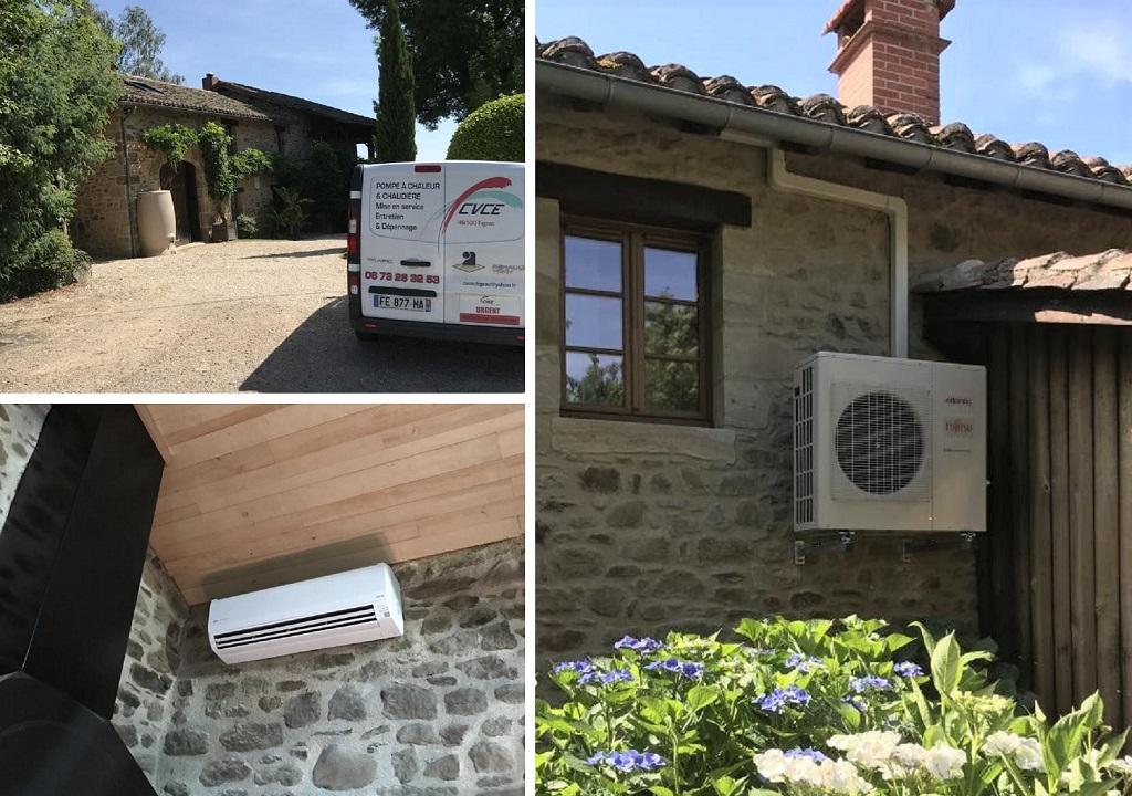 Mise en service climatisation ATLANTIC -Lot (46)