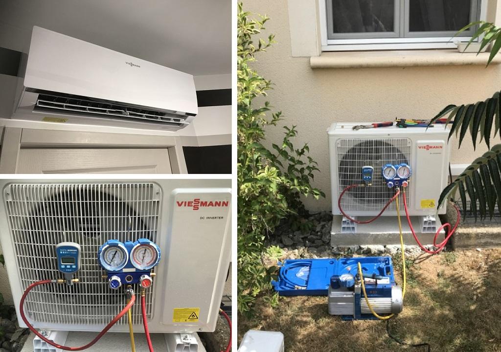Mise en service climatisation Viessmann -Lot (46)