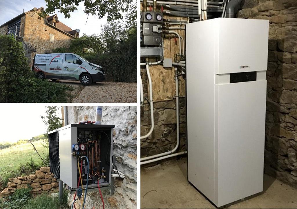 Mise en service pompe à chaleur VIESSMANN -Lot (46)
