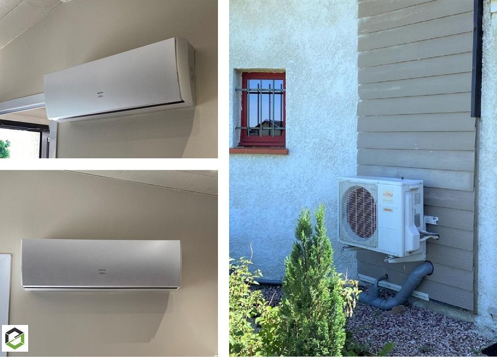 Installation Pompe à chaleur et climatisation réversible