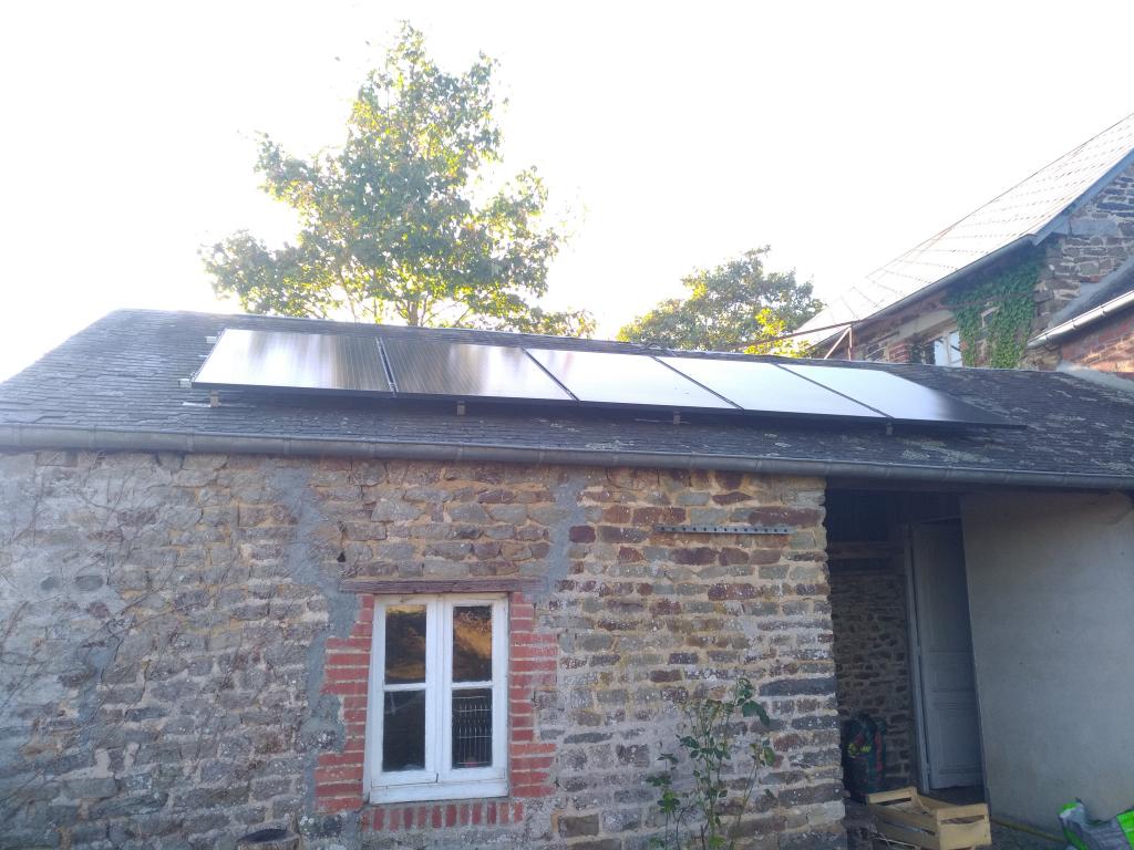Installation panneaux solaires photovoltaiques en auto consommation