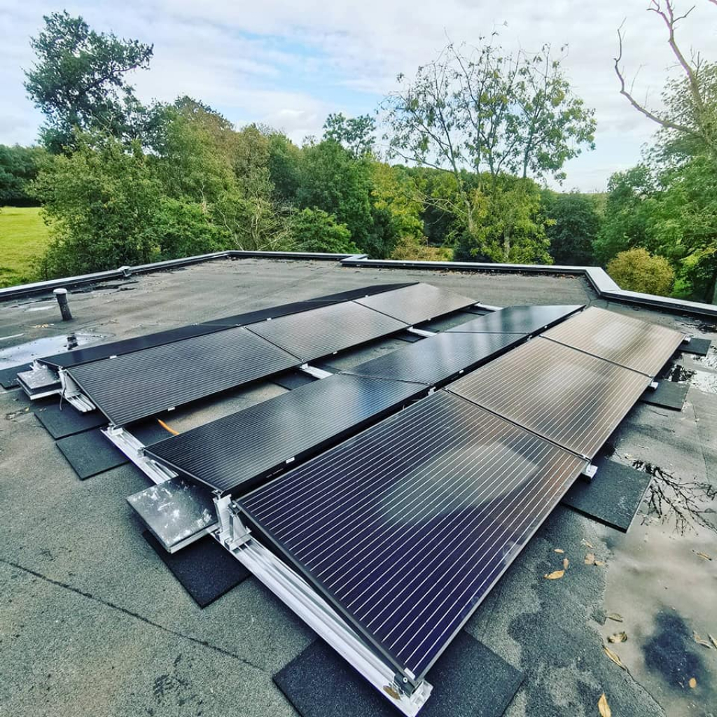 Installation photovoltaïque toit plat 6kw -Calvados (14)