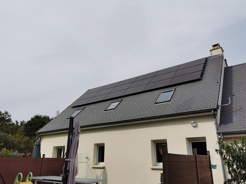 Installation photovoltaïque 6kw autoconsommation-Manche (50)
