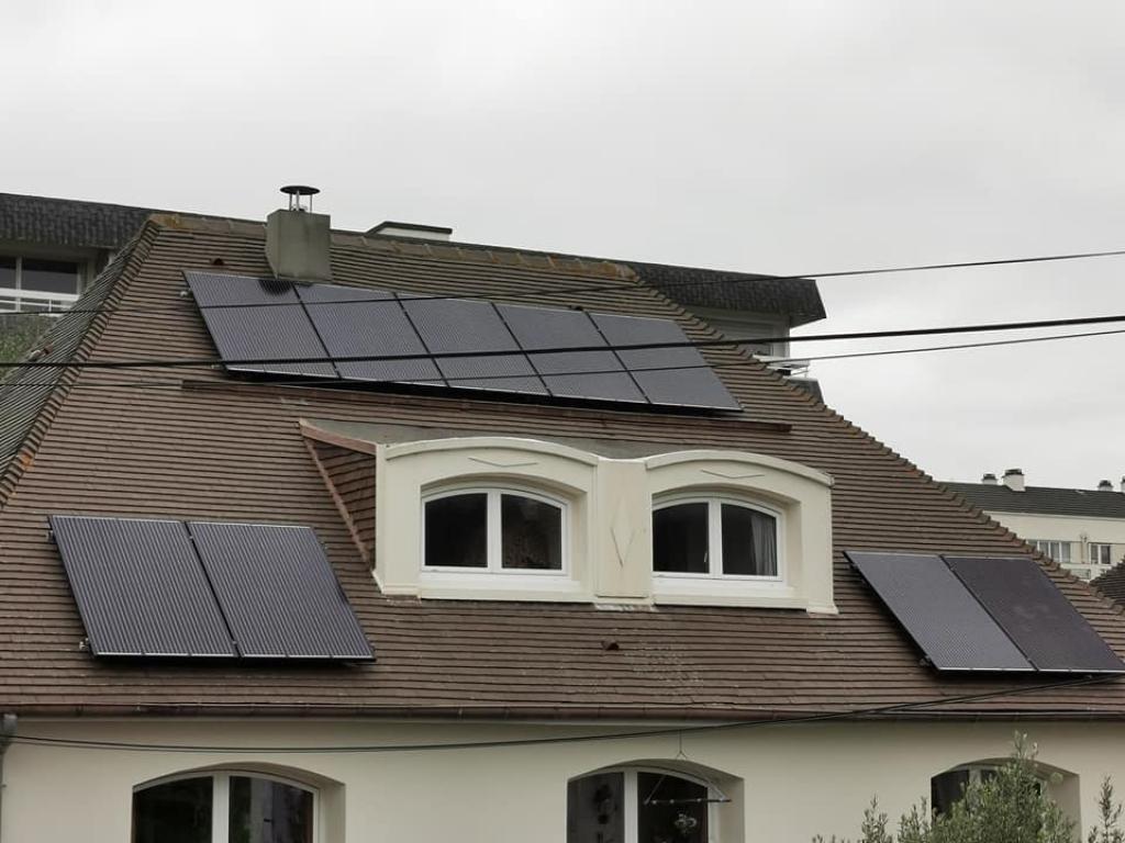 Installation panneaux solaires  photovoltaïques 3kw autoconsommation