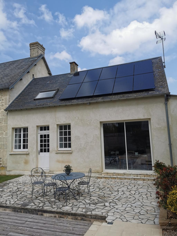 Installation panneaux solaires photovoltaïques 3kw - Autoconsommation-Calvados (14)